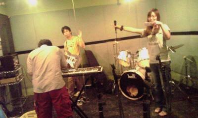 auraricaスタジオにて。