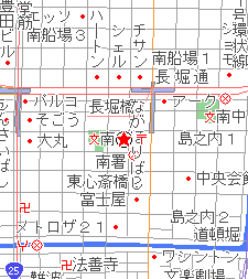 FANJの地図